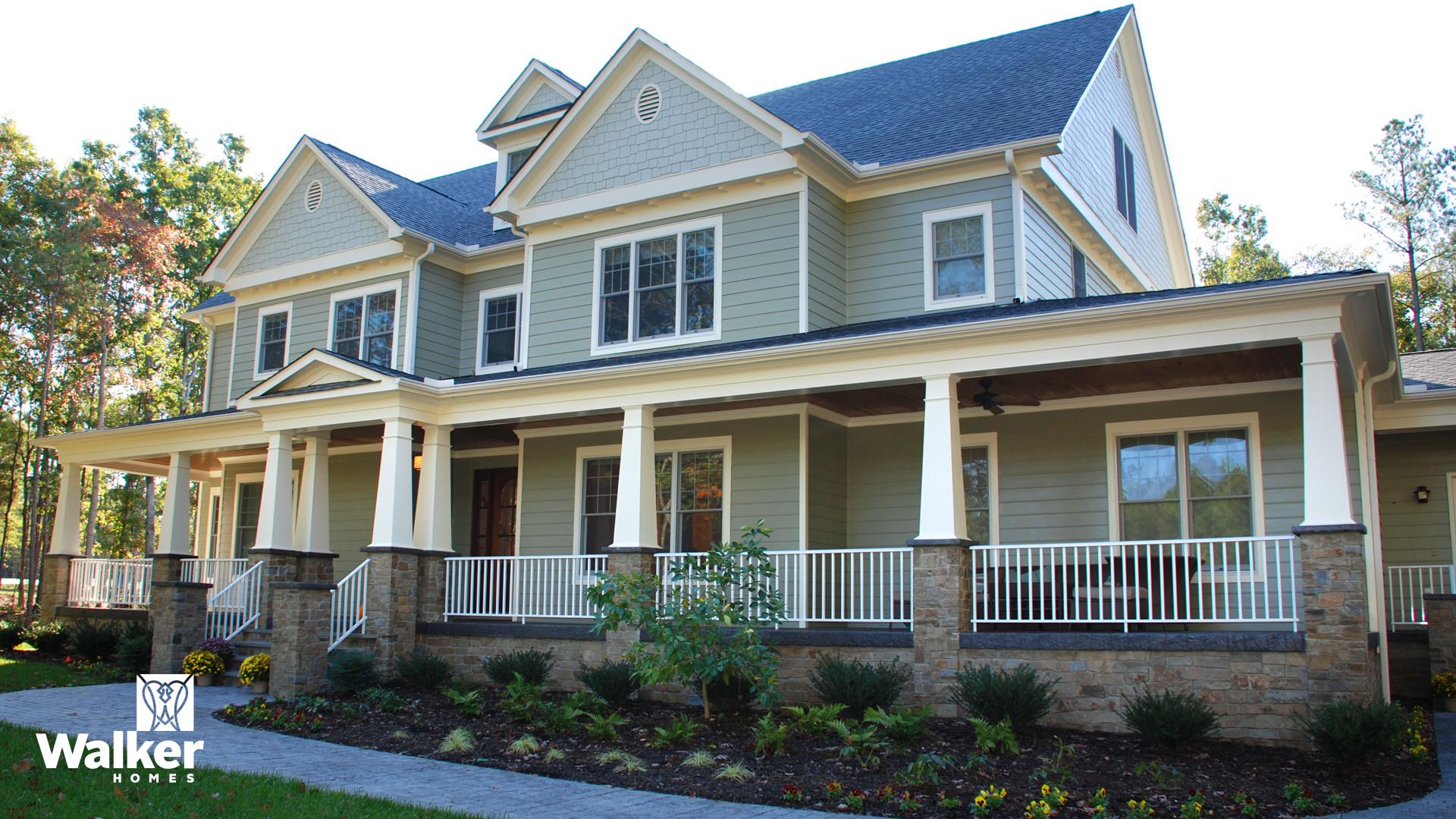 A fully custom home by Walker Homes in Glen Allen, Virginia