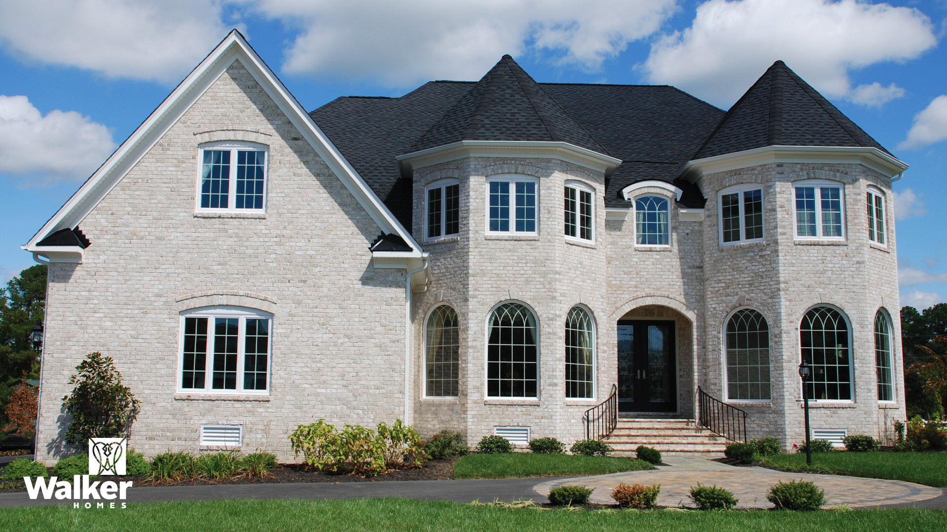 The Brayton is a custom home design by Walker Homes in Glen Allen, Virginia