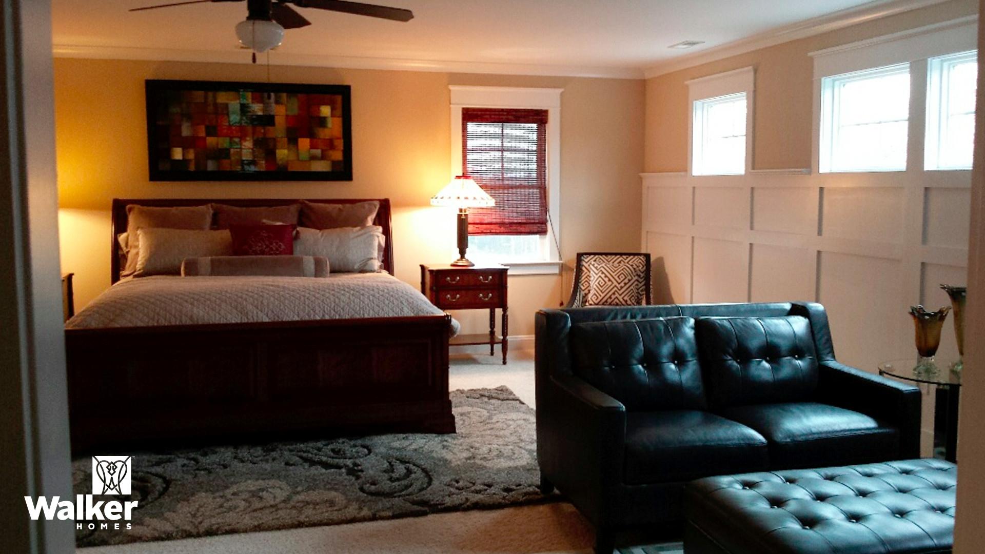 The Winstead II Master Bedroom by Walker Homes in Glen Allen, Virginia