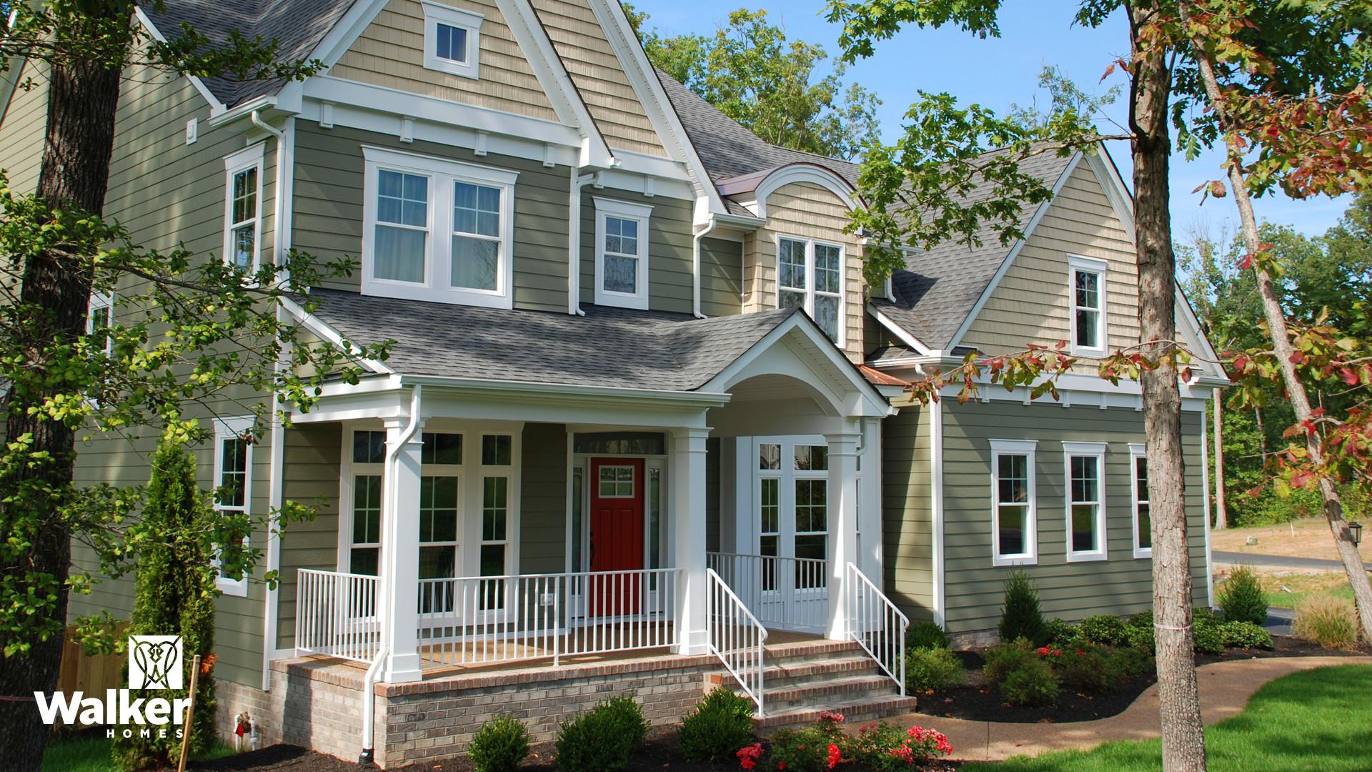 The Winstead II by Walker Homes in Glen Allen, Virginia