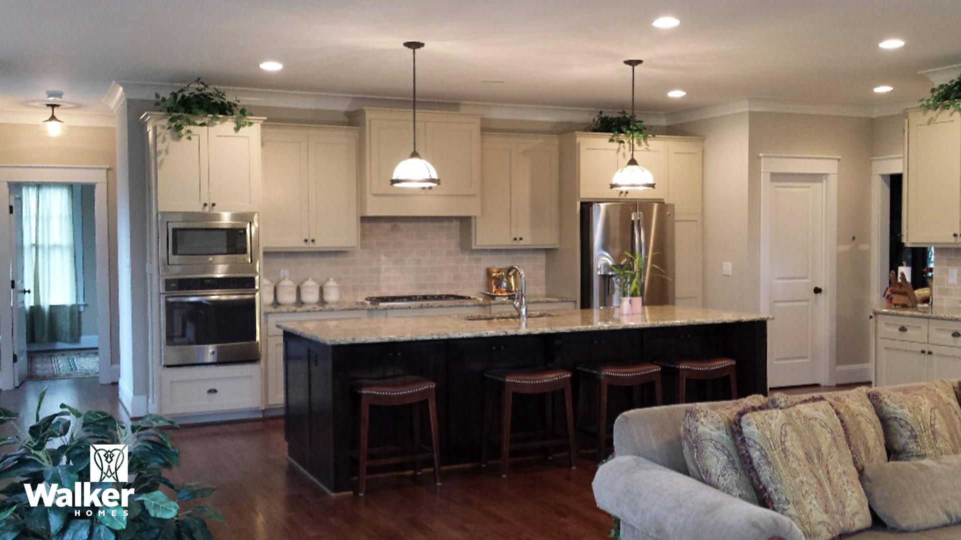 The Winstead II Kitchen by Walker Homes in Glen Allen, Virginia