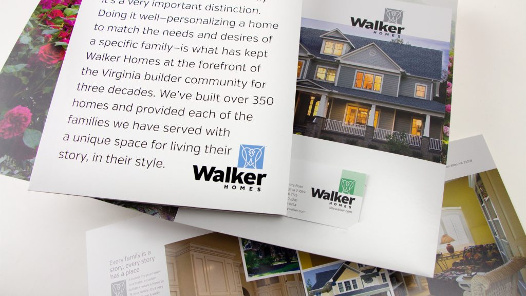 May I send you our Walker Homes Introduction Package?