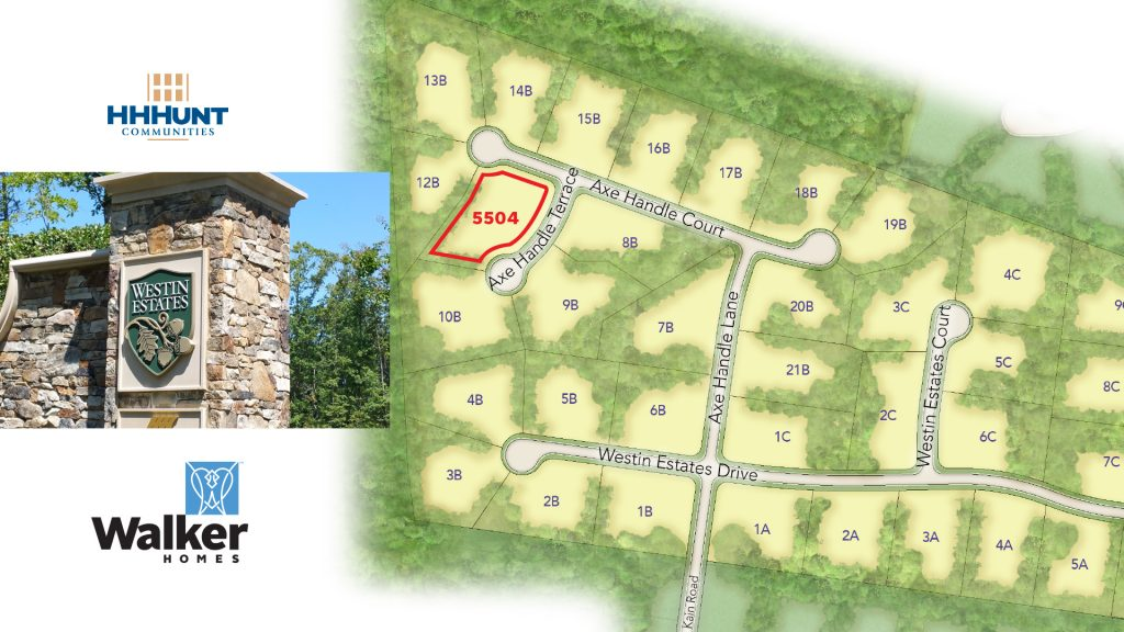 So near and yet so far–our last lot at Westin Estates